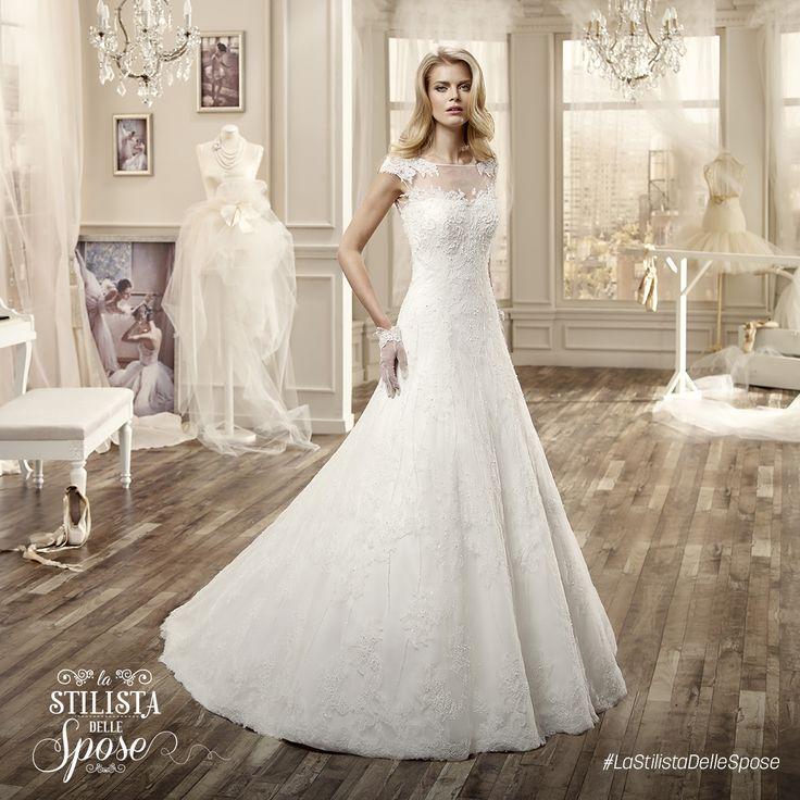 Episodio 2 - L'abito indossato da Maria Giovanna. Wedding Nicole lace dress 2016 collection.  http://www.nicolespose.it/it/abito-da-sposa-Nicole--NIAB16065-2016 #Nicole #collection #nicolespose #alessandrarinaudo #wedding #lace #abitidasposa #bianco #white #weddingdress #sposa #bride #brides #bridal #LaStilistaDelleSpose #realtime
