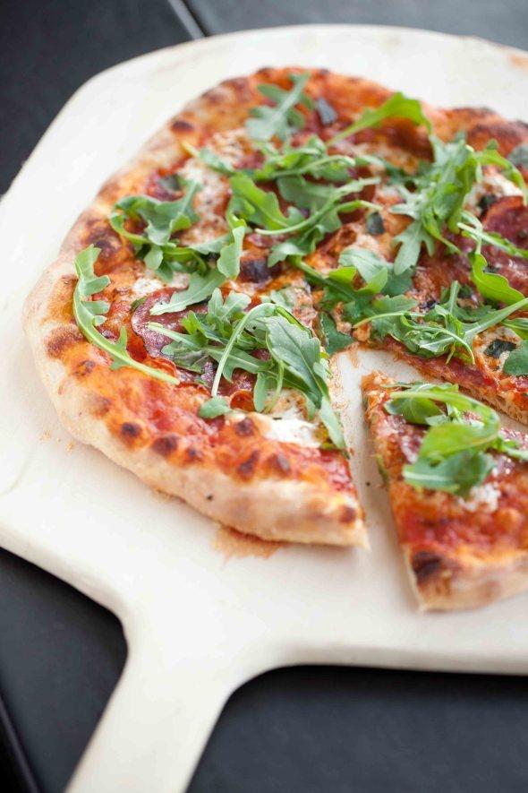 Pizza - No Knead dough | Recipes | Pinterest