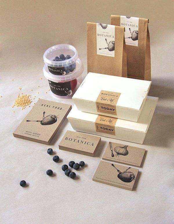 Packaging.  I like simple ness of design denoting uncomplicated ingredients.