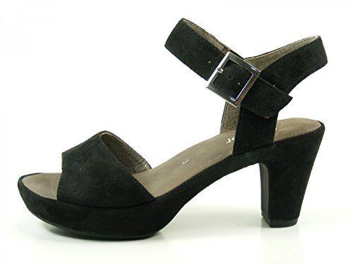 Gabor Fashion Damenschuhe 45.751.57 Damen Sandalette Sandale Leder (Wildleder) Schwarz (schw.(ohne Strass)), EU 36 - http://on-line-kaufen.de/gabor/3-5-uk-gabor-fashion-damenschuhe-45-751-damen