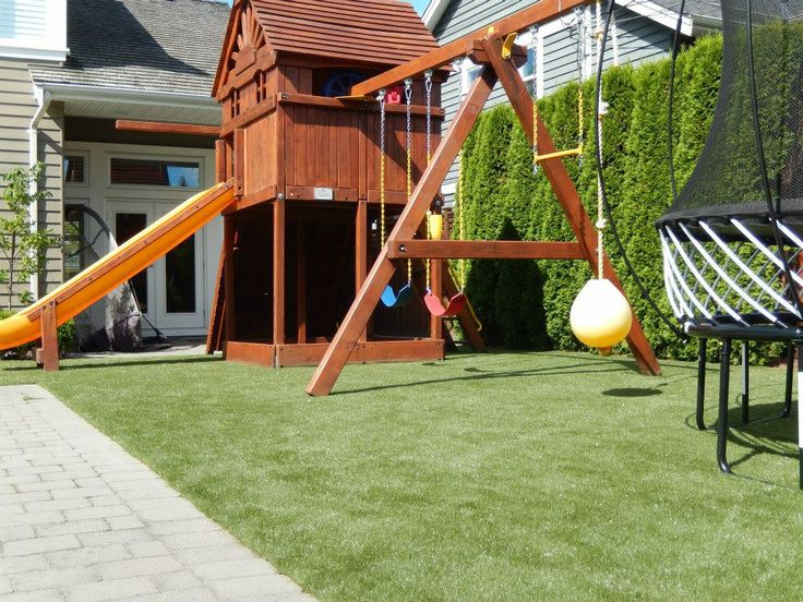 30 best playground images on pinterest for No maintenance backyard