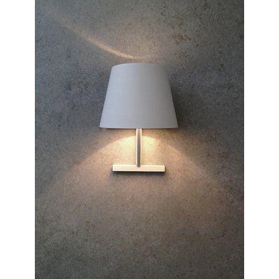 SeedDesign Concom 1-Light Wall Lamp Shade Color: White