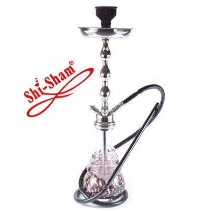 ShiSham NG Reloaded Silver-Shaft Black unter http://www.relaxshop-kk.de/shishas-orientalische-wasserpfeifen/shishas-mit-klickverschluss.html kaufen.
