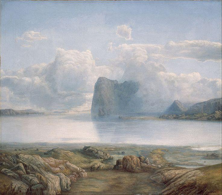 Lars Hertervig - Island Borgøya - Google Art Project - Lars Hertervig - Wikipedia, the free encyclopedia