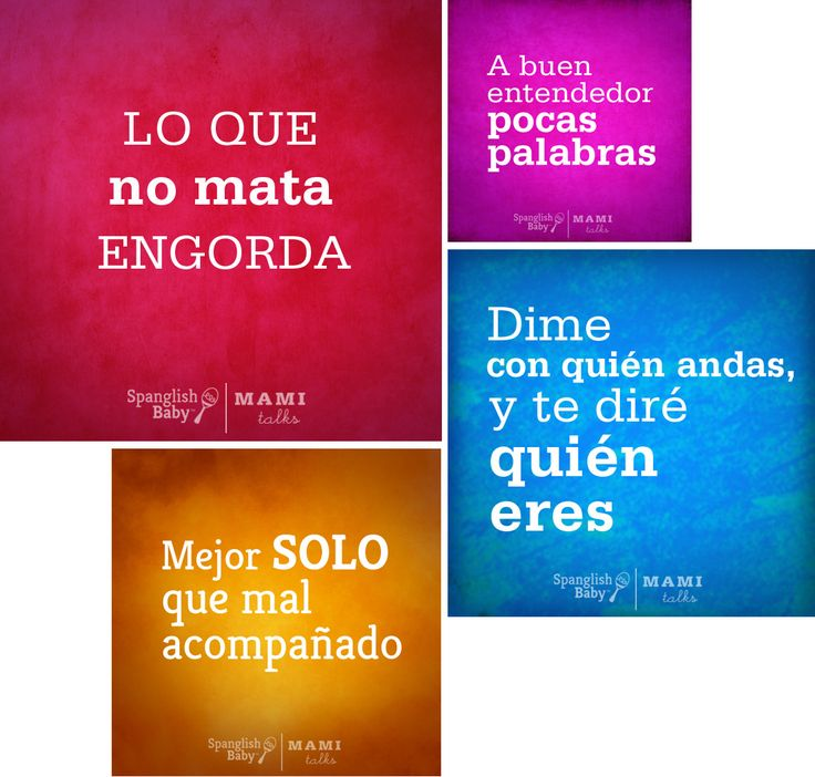 As I told you in my last post I've been designing a lot and these dichos (sayings) project is one project I made together with SpanglishBaby; their Facebook community sent over their favorite dichos and we made them graphics. While I was arranging words, colors and sentences I could hear my mom or my tías saying many of these phrases to me! Do you use dichos when you speak? I do, a little, but not as much as my mom does.There are variations among all the countries but it's cool how in most…