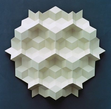 Gerard Caris: Geometric Paper, Inspiration, Relief Sculpture, Artistic Quest, Paper Sculptures, Gerard Caris Sculpture2 Jpg, Geometric Sculpture