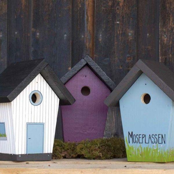 Bygg Moseplassens fuglekasse! Med arbeidstegninger og forklaring