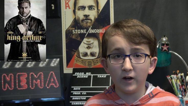 Film Review: King Arthur -  Legend of the Sword by KIDS FIRST! Film Critic Benjamin P. #KIDSFIRST! #KingArthur