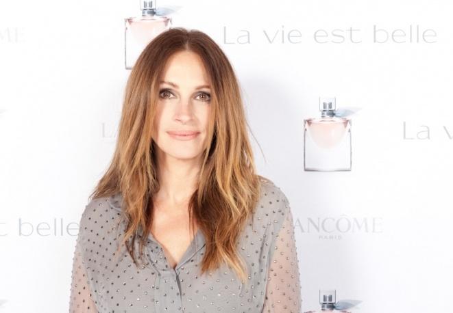 Julia Roberts per La vie est belle  L'attrice sarà il volto del nuovo profumo di Lancôme.