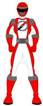 15. Power Rangers Operation Overdrive - Red Ranger by PowerRangersWorld999