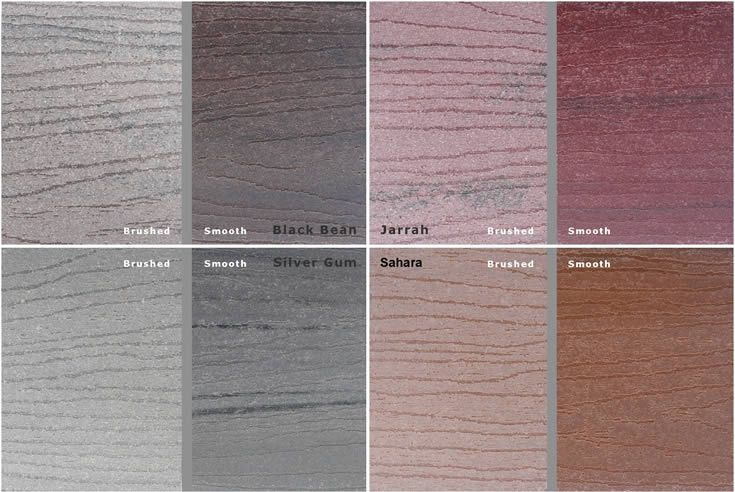 ModWood Colours  #Wide Decking #Screen #Fence #Boardwalk,