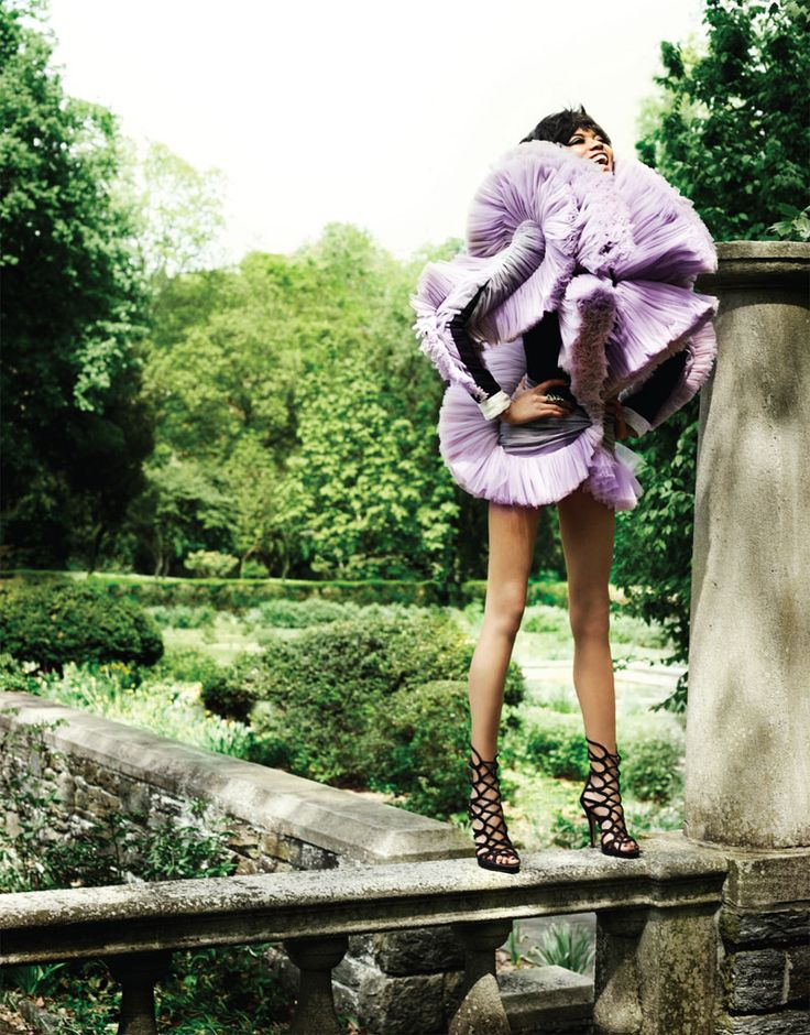 Chanel Iman for The Block Summer 2010 by Doug Inglish