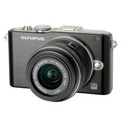 Olympus Pen Lite E-PL3 negru kit + obiectiv M.ZUIKO DIGITAL - F64