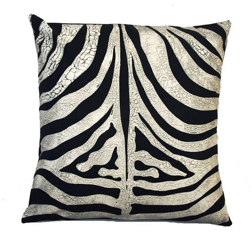 "Small Zebra ""Skin"" Cushion Cover"