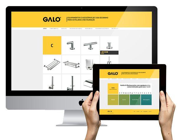 O site GALO Equipamentos já está no ar :) Visitem! www.galoequipamentos.pt