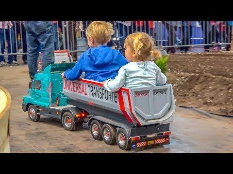 Handmade! RC Tractors! Trucks! Heavy Machines! GIANT 1/8 scale! - YouTube