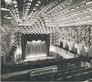 Capitol Theatre. Walter Burley Griffin