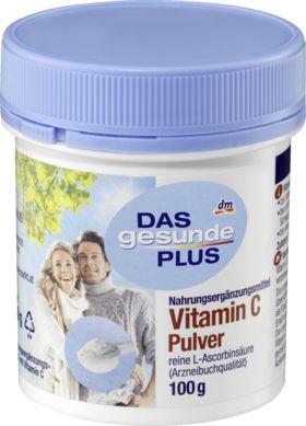 Das gesunde Plus Vitamin C Pulver ist ein Nahrungsergänzungsmittel. Vitamin C übernimmt eine Vielzahl von Aufgaben im Körper, z.B. für das Immunsystem und...