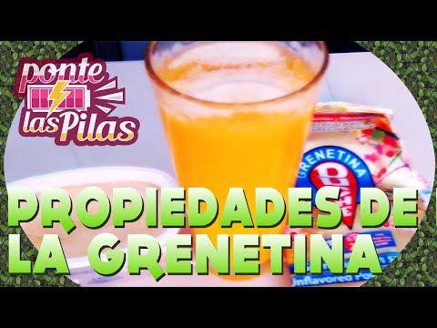 Beneficios de la Gelatina Nutriologo Naturista Israel Fernandez - YouTube
