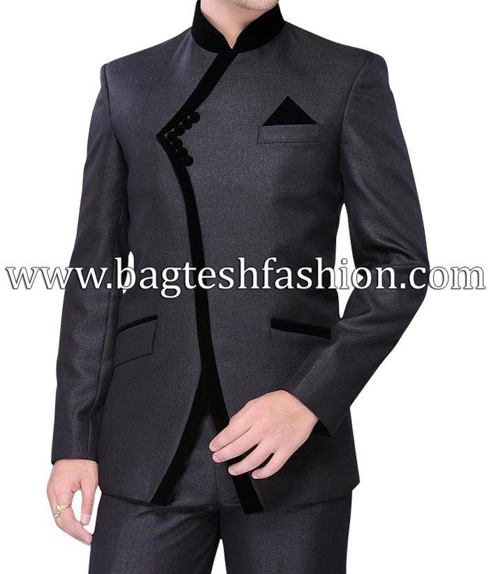 Stylish Party Wear Groom Designer Jodhpuri Suit http://www.bagteshfashion.com/men/mens-suits/jodhpuri-suits