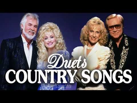Best Duets Country Songs Of All Time - Greatest Country Love Songs Collection - Top Country Music - YouTube