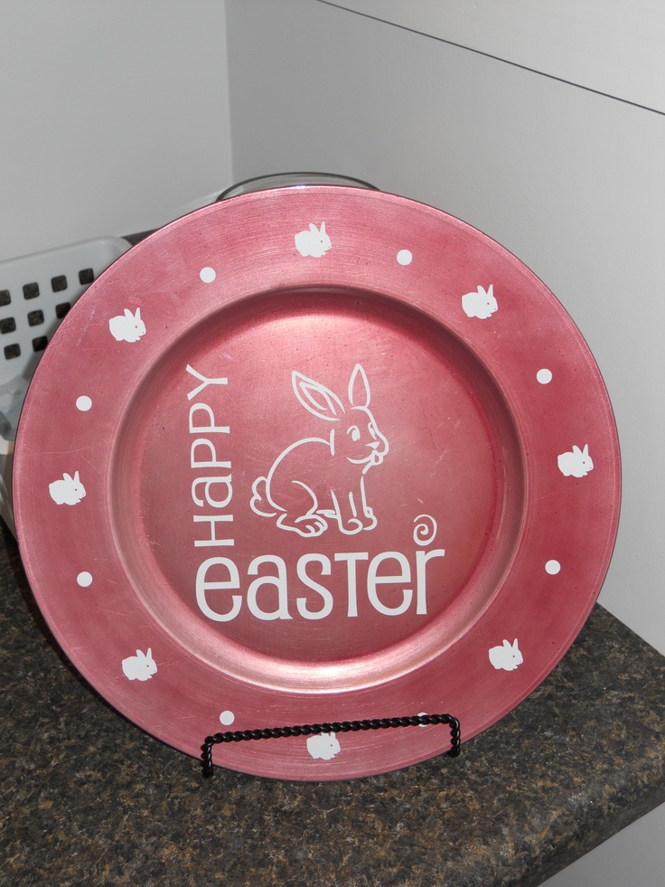 charger plate craft ideas 86 best images about cricut easter on 3518