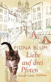 Fiona Blum - Liebe auf drei Pfoten:  Eine junge Frau, die versucht, sich hinter ihren Büchern zu verstecken. Ein herrenloser Kater, der das letzte seiner sieben Leben schon aufgegeben hat. Zwei Kinder, deren Mutter ihre Tage unter einem Tisch zubringt, um der Angst zu entfliehen, und eine alte Frau, die ein großes Geheimnis hütet. Sie alle treffen in Rom aufeinander, dieser Stadt, deren Schönheit sich nur demjenigen erschließt, der morgens um vier den Steinen zuhört und nicht an Zufälle…