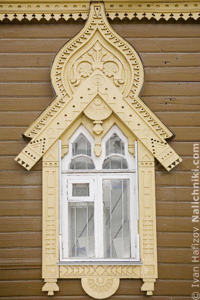 Наличники России - Старые фотографии домов и наличников