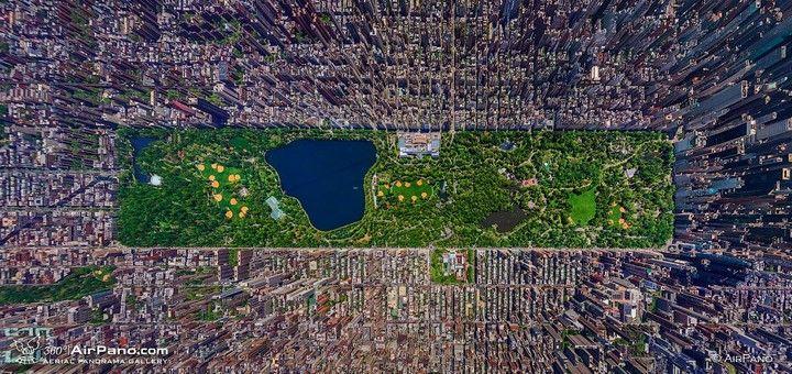 Central Park à New-York USA