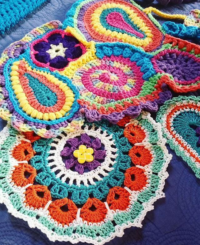 Yarn Bombing Crochet Free form Greerton NZ