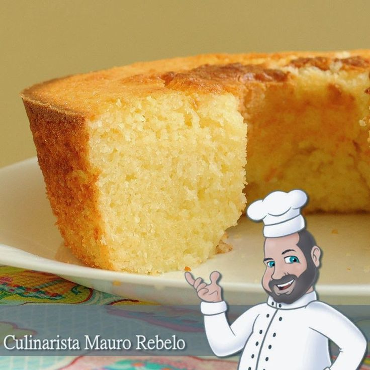 Fiz o Bolo de Arroz Cru  da Sara Braulino  .  Fica uma delícia! Tem uma textura diferente dos bolos tradicionais por conta de não levar f...