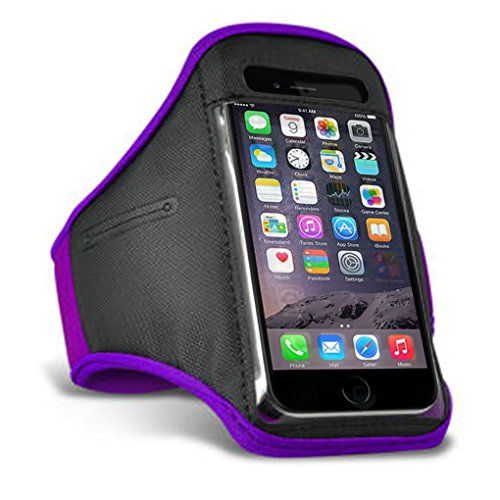 From 3.29:Iphone 6 6s / Iphone 7 Armband For Iphone 6 6s / Iphone 7 Sports Armband Running Workout And Exercise High Quality Neoprene With Strap Cover (purple)