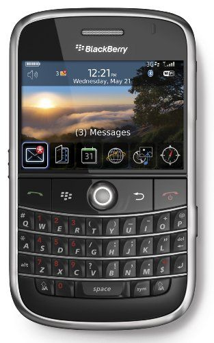 BlackBerry RIM ® Bold 9000 - Qwerty - Black  #BlackBerry #Wireless