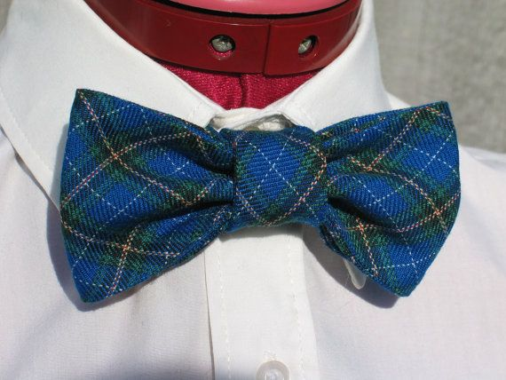 Nova Scotia Tartan Bow Tie by dolldressedup on Etsy