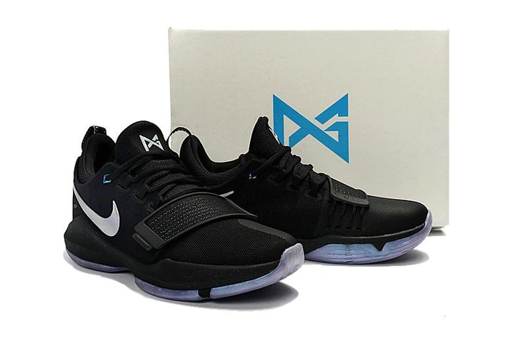 Free Shipping Only 69$ Nike PG 1 Shining Black Multicolor Paul George