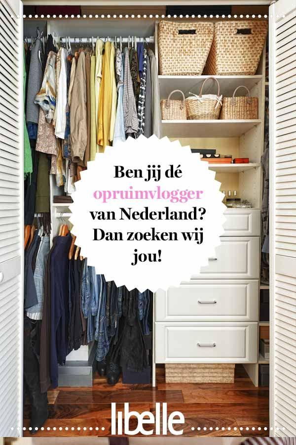 a47a881cb1f Ben jij dé opruimvlogger van Nederland? Dan zoeken wij jou! | Huishouden |  Libelle - Home Decor en Home