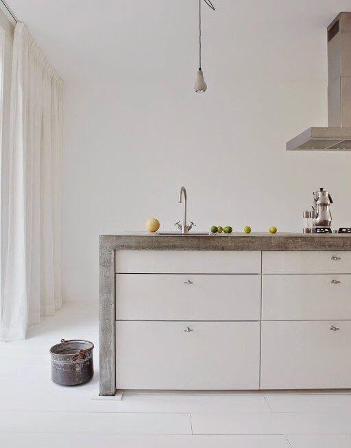 6x beton in de keuken - Roomed | roomed.nl
