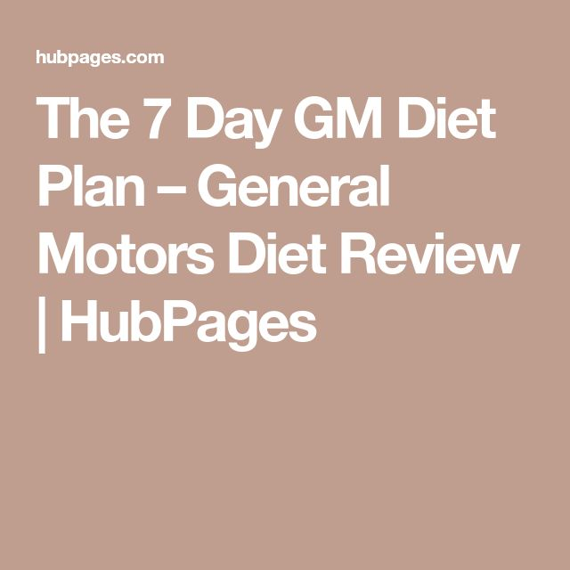 Beginner's Guide to 7 Day GM Diet: Day 1-7 Meal Plans & Tips