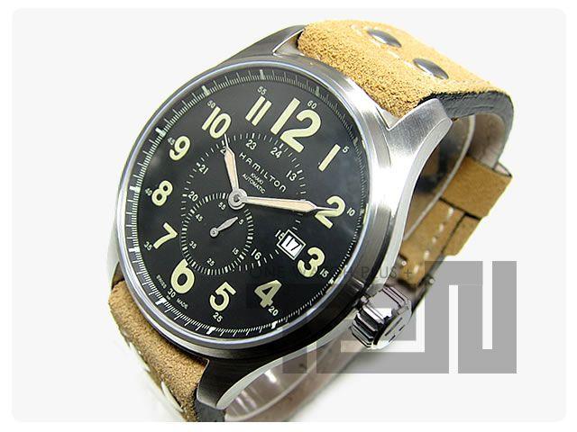 Hamilton (ハミルトン) H70655733 KHAKI FIELD Officer AUTO ETA2824 腕時計