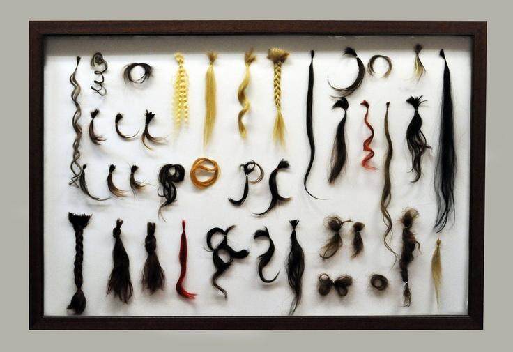 Collezione Privata  Installation_  Capelli Veri