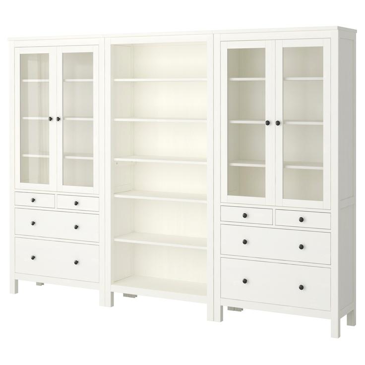 HEMNES Storage Combination - White - IKEA