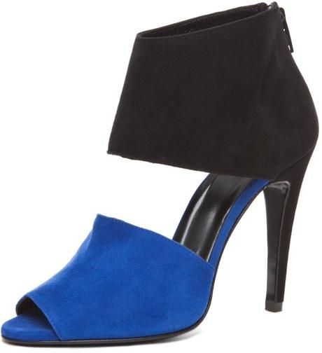 Pierre Hardy Multi Colored Heel in Blue