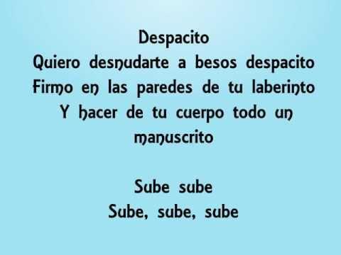Luis Fonsi - Despacito ft. Daddy Yankee (letra) - YouTube