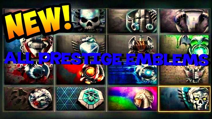 Call of Duty: Advanced Warfare All Prestige Emblems and Master Prestige ...