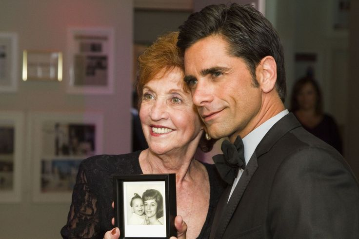 """John Stamos Writes to His Mom for Mother's Day: """"I Miss You Madly"""""""