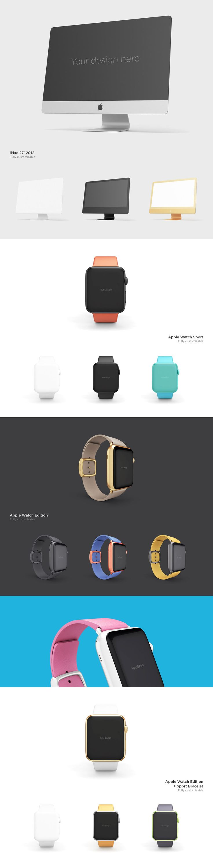 Design with these FREE PSD mock ups. Get the full control of the mock up and…