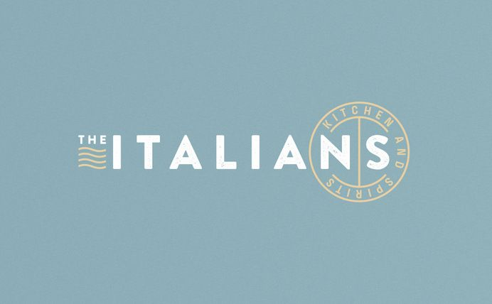 Graphic design / The Italians branding