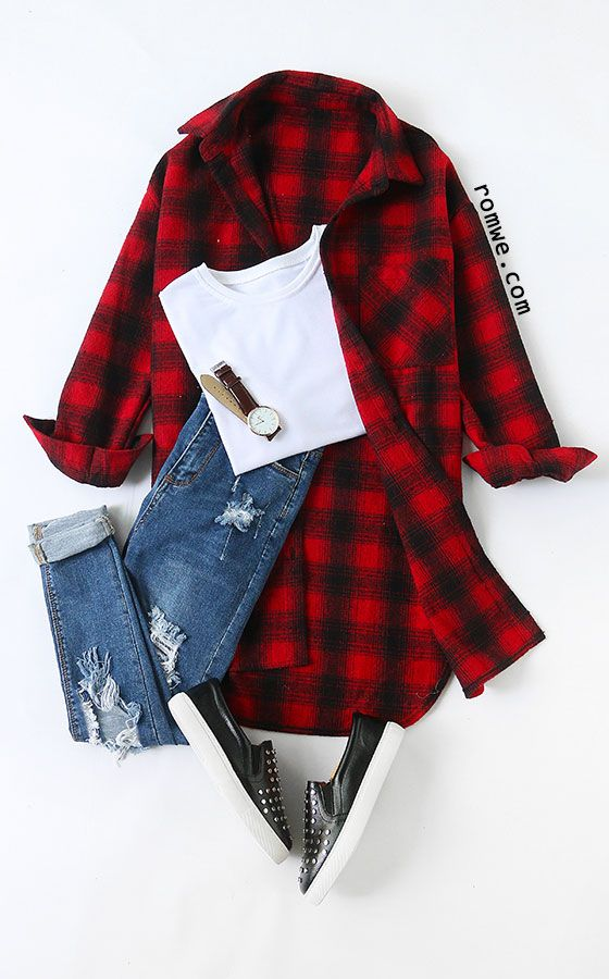 Red Tartan Plaid High Low Blouse Size Available: S,M,L Type: High Low Season: Fall Pattern Type: Plaid Sleeve Length: Long Sleeve Color: Red Material: Polyester Style: Casual