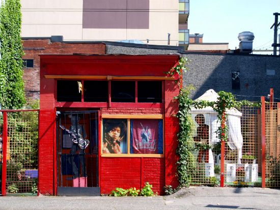 The Jimi Hendirx Shrine, one of Vancouver's most fascinating urban curiosities, is where Jimi's grandmother Nora Hendrix lived in Vancouver's. Open from June to September 1:00 pm – 6:00 pm Monday – Saturday.