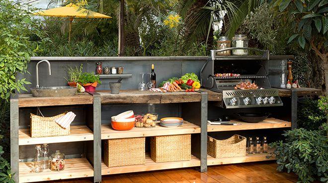 Möbel Für Outdoor Küche : Die outdoorküche outdoor küche aussenküche grillküche higher